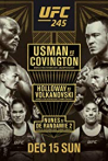 Watch UFC 245: Usman vs. Covington Online for Free