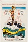 Watch Three Sailors and a Girl Online for Free